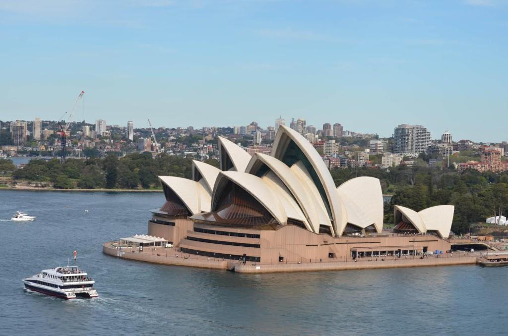 Opera House vista da ponte