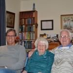 Eu, Peter e Christina