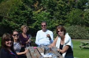 Turma da vinícola