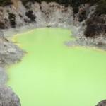 Lagoa verde clara