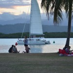 Por do Sol em Port Douglas
