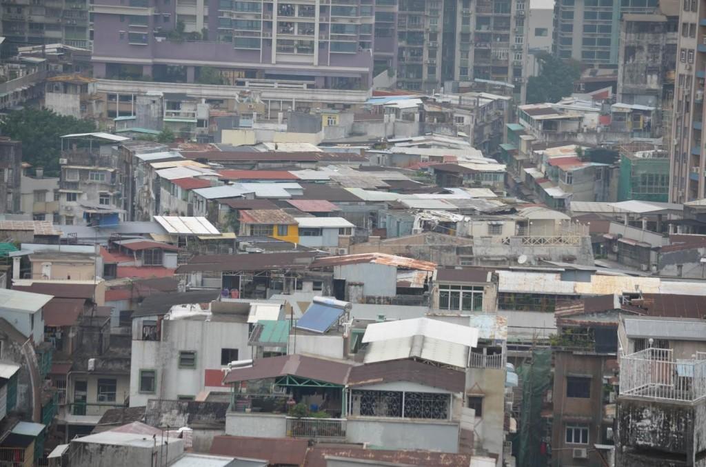 Semelhança com favelas